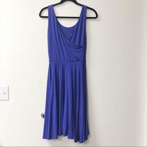 Cynthia Rowley Women's Blue / Purple Midi Dress